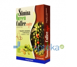 FA LANGSTEINER Slimina Green Coffee Caps 30 kapsułek