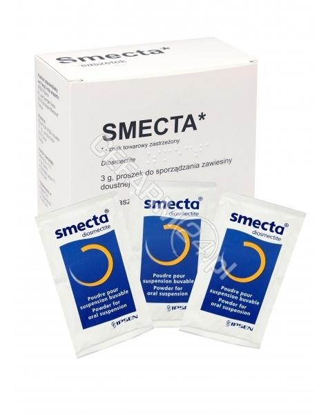 INPHARM Smecta x 10 sasz (import równoległy - Inpharm)