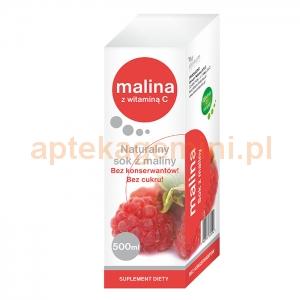 DONUM NATUREA Sok z Malin z witaminą C, 500ml OKAZJA