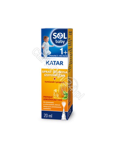 SEQUOIA Solbaby katar spray do nosa 20 ml
