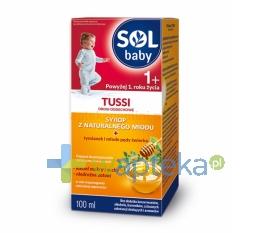 SEQUOIA SP. Z O.O. Solbaby Tussi syrop 100 ml - Krótka data ważności - do 31-12-2015