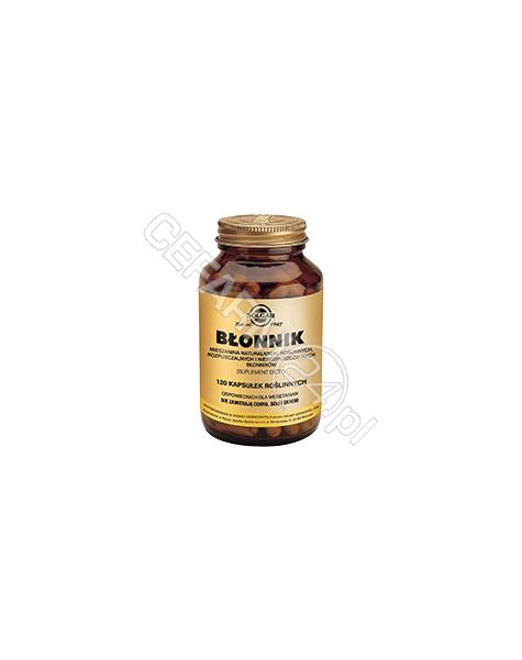 SOLGAR Solgar Błonnik (mieszanina naturalnych rozpuszczalnych i nierozpuszczalnych błonników) x 120 kaps