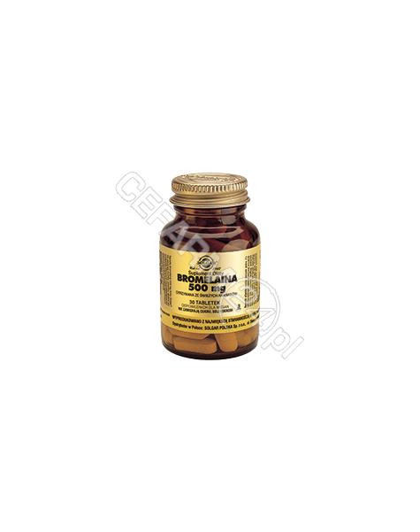 SOLGAR Solgar Bromelaina 500 mg x 30 tabl