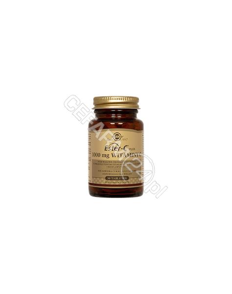 SOLGAR Solgar Ester C Plus - 1000 mg Witaminy C x 30 tabl