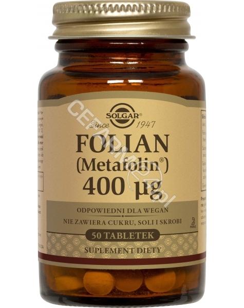 SOLGAR Solgar Folian (Metafolin) x 50 tabl