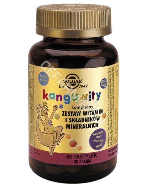 SOLGAR Solgar Kanguwity x 60 pastylek do ssania (naturalny smak soczystych jagoód)