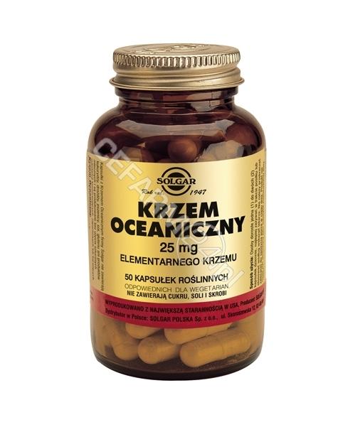 SOLGAR Solgar Krzem Oceaniczny 24 mg x 50 kaps