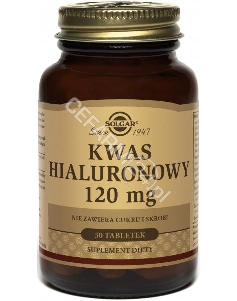 SOLGAR Solgar Kwas Hialuronowy 120 mg (Biocell Collagen II) x 30 tabl