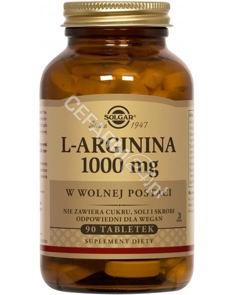 SOLGAR Solgar L-Arginina 1000 mg x 90 tabl