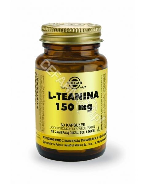SOLGAR Solgar L-Teanina 150 mg x 60 kaps