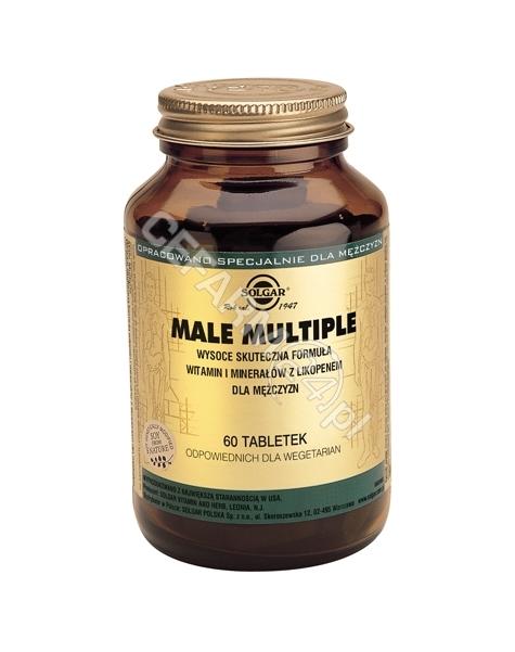 SOLGAR Solgar Male Multiple x 60 tabl (witaminy i minerały dla mężczyzn)