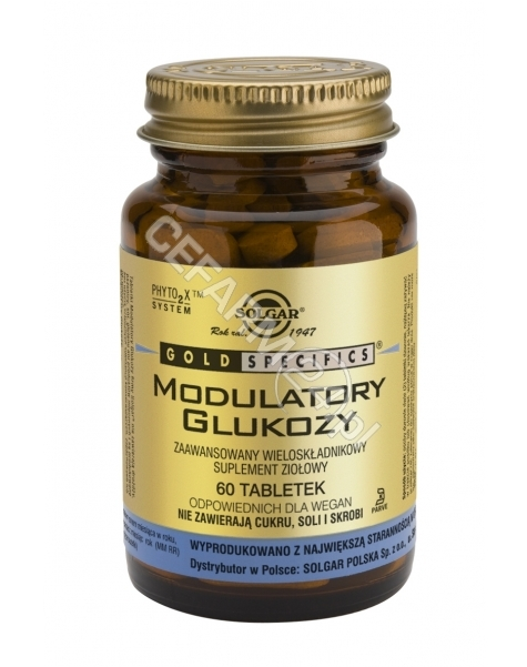 SOLGAR Solgar Modulatory glukozy x 60 kaps