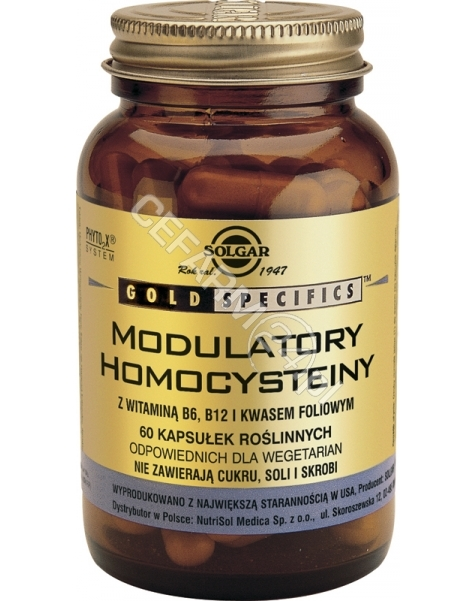 SOLGAR Solgar Modulatory homocysteiny x 60 kaps
