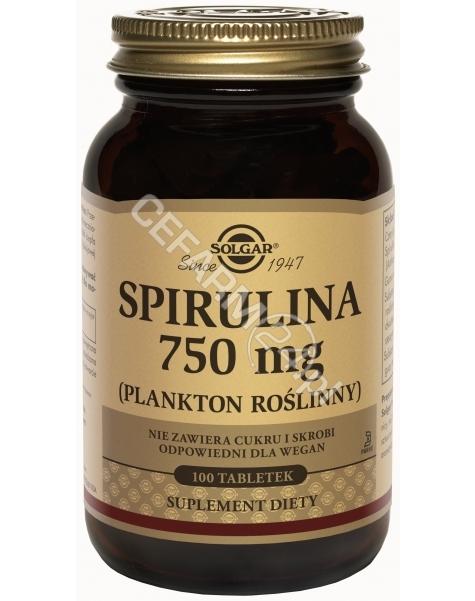 SOLGAR Solgar Spirulina 750 mg x 100 tabl