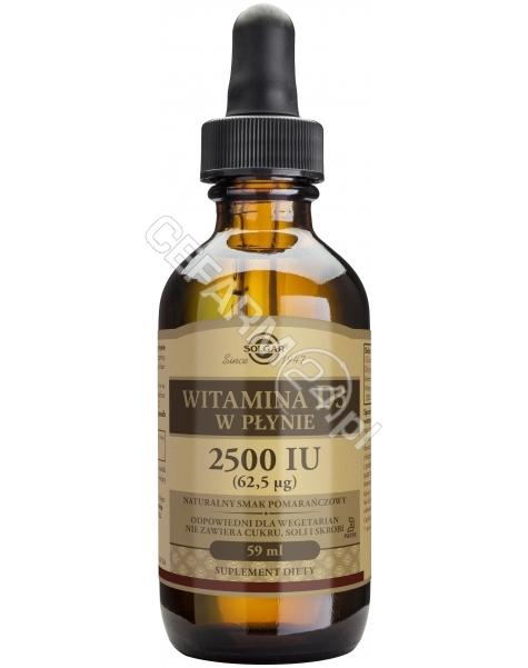 SOLGAR Solgar Witamina D3 2500 IU (62,5 µg) płyn 59 ml