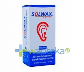 SOLINEA Solwax active krople 15 ml