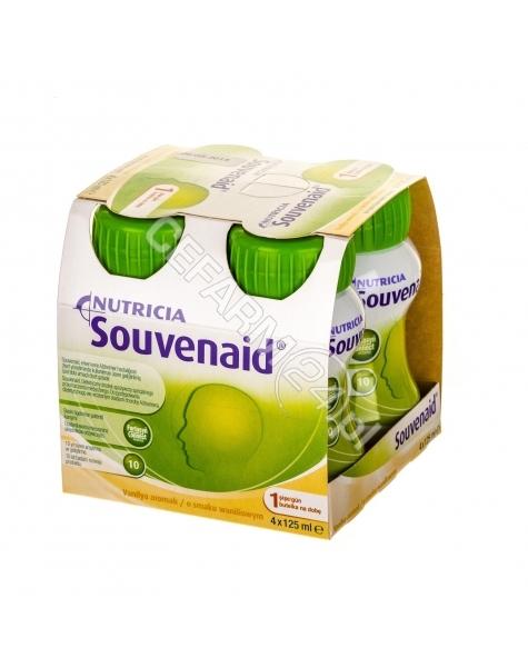 NUTRICIA Souvenaid o smaku waniliowym 4 x 125 ml
