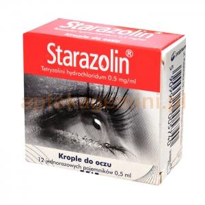 POLPHARMA Starazolin 0,05%, krople do oczu, 12 minimsów