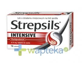 BOOTS HEALTHCARE SP.Z O.O. Strepsils Intensive 16 tabletek do ssania