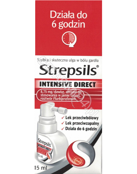 RECKITT BENC Strepsils Intensive Direct aerozol 15 ml