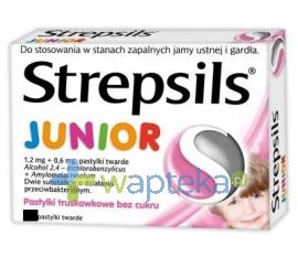 RECKITT BENCKISER (POLAND) S.A. Strepsils Junior pastylki do ssania 24 sztuki