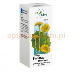 PHYTOPHARM KLĘKA Succus Farfarae, płyn doustny, 100ml OKAZJA