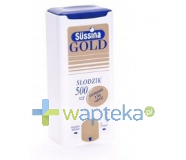 FA LANGSTEINER Sussina Gold słodzik 500 tabletek