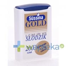 INSTANTINE Sussina Gold słodzik z dozownikiem 200 tabletek