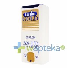 FA LANGSTEINER Sussina Gold słodzik z dozownikiem 500 szt. + 150 szt. Gratis