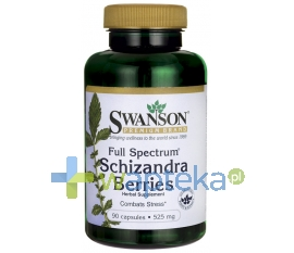 Swanson Health Products SWANSON Schizandra Berries 525mg 90 kapsułek