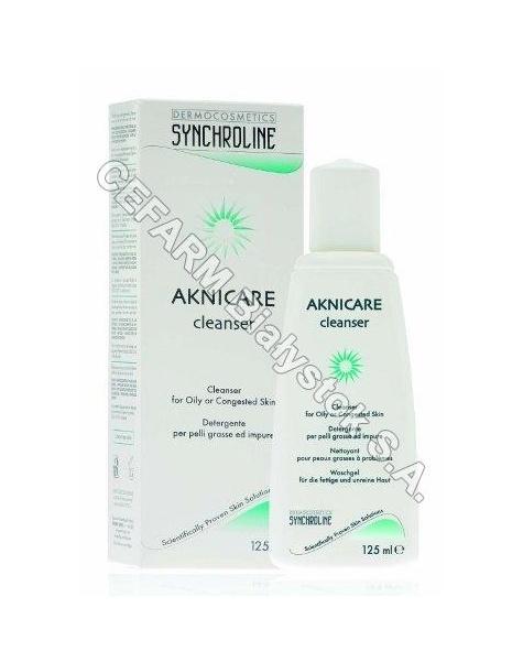 General Topics Synchroline aknicare cleanser żel do mycia twarzy o działaniu przeciwtrądzikowym 200 ml