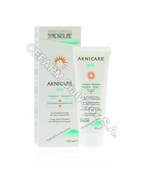 General Topics Synchroline aknicare sun spf-30 emulsja przeciwtrądzikowy z filtrem 50 ml