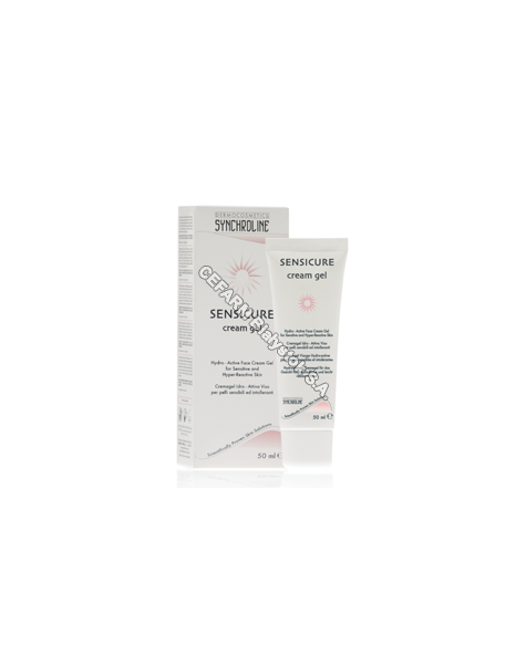 General Topics Synchroline sensicure face cream krem-żel do pielęgnacji wrażliwej skóry twarzy 50 ml