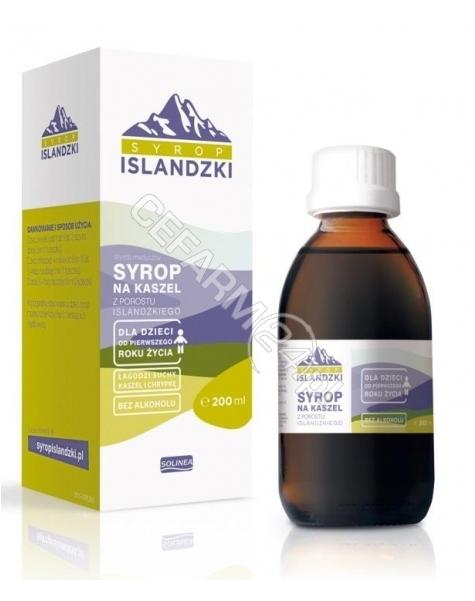 SOLINEA SP.J. Syrop Islandzki na kaszel 200 ml