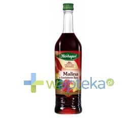 HERBAPOL-LUBLIN S.A. Syrop OWOCOWA SPIŻARARNIA Malina z lipą 420 ml