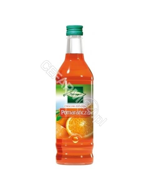 HERBAPOL LUB Syrop owocowa spiżarnia pomarańcza 550g/420 ml