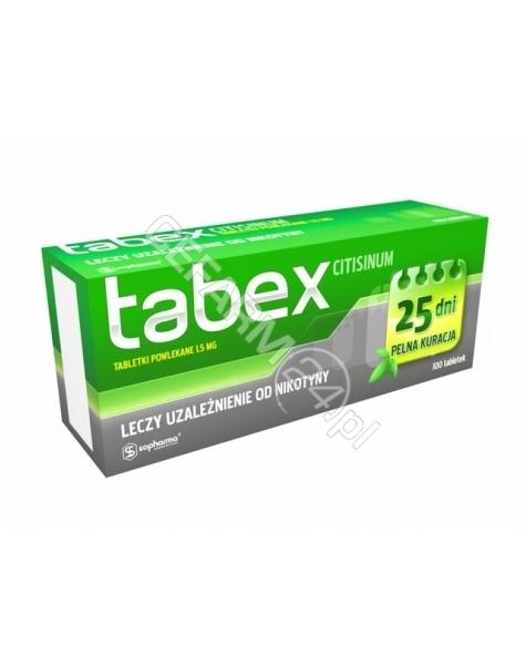 SOPHARMA Tabex 1,5 mg x 100 tabl powlekanych