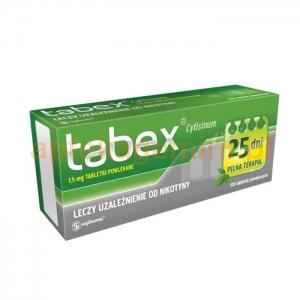 SOPHARMA WARSZAWA SP. Z O.O. Tabex 1,5mg 100 tabletek