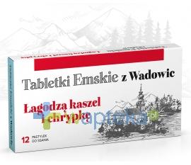 POLSKI LEK Tabletki Emskie z Wadowic 12 pastylek