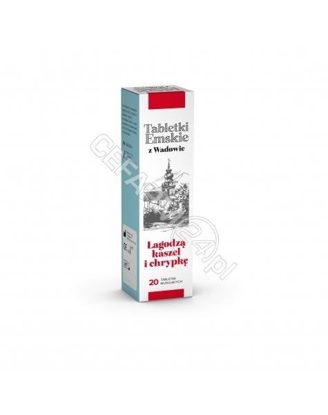 POLSKI LEK Tabletki emskie z wadowic x 20 tabl musujących