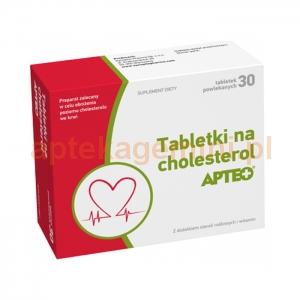 SYNOPTIS PHARMA Tabletki na cholesterol APTEO, 30 tabletek