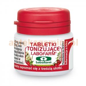 LABOFARM Tabletki tonizujące, 20 tabletek