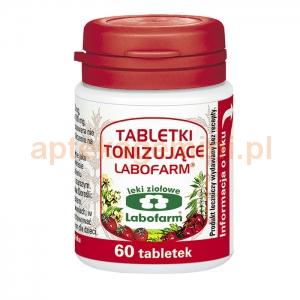 LABOFARM Tabletki tonizujące, 60 tabletek