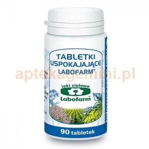 LABOFARM Tabletki uspokajające, 90 tabletek