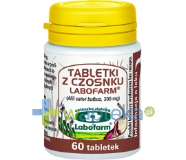Labofarm Tabletki z czosnku 60 tabletek