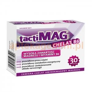 TACTICA TactiMag ChelatB6, 30 tabletek