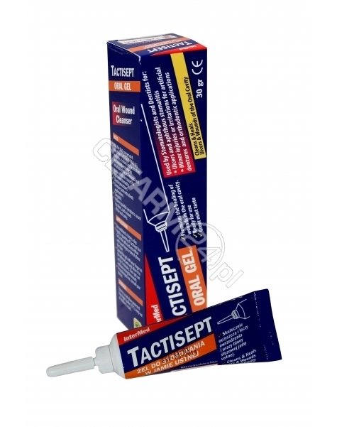 TACTICA PHAR Tactisept żel do stosowania w jamie ustnej 30 g