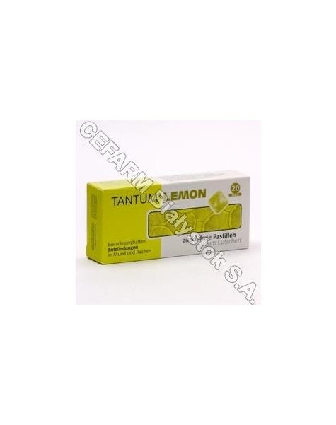 ANGELINI Tantum lemon 3 mg x 20 pastylek do ssania