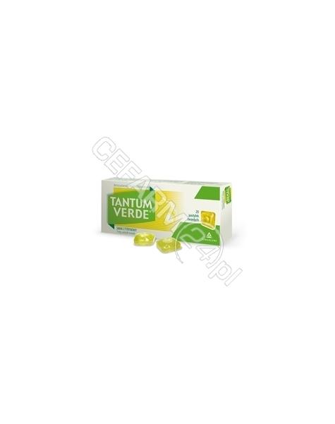 ANGELINI Tantum verde 3 mg x 30 pastylek do ssania o smaku cytrynowym