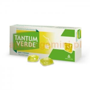ANGELINI Tantum Verde, smak cytrynowy, 30 pastylek